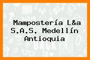 Mampostería L&a S.A.S. Medellín Antioquia