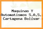 Maquinas Y Automatismos S.A.S. Cartagena Bolívar