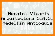 Morales Vicaria Arquitectura S.A.S. Medellín Antioquia