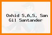 Oxhid S.A.S. San Gil Santander