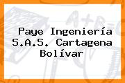 Paye Ingeniería S.A.S. Cartagena Bolívar