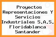 Proyectos Representaciones Y Servicios Industriales S.A.S. Floridablanca Santander