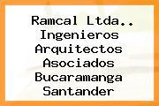 Ramcal Ltda.. Ingenieros Arquitectos Asociados Bucaramanga Santander