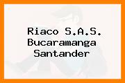 Riaco S.A.S. Bucaramanga Santander