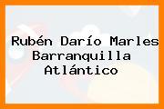 Rubén Darío Marles Barranquilla Atlántico