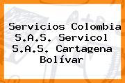 Servicios Colombia S.A.S. Servicol S.A.S. Cartagena Bolívar
