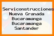 Serviconstrucciones Nueva Granada Bucaramanga Bucaramanga Santander