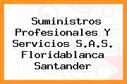 Suministros Profesionales Y Servicios S.A.S. Floridablanca Santander