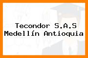 Tecondor S.A.S Medellín Antioquia