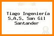 Tiago Ingeniería S.A.S. San Gil Santander