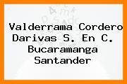 Valderrama Cordero Darivas S. En C. Bucaramanga Santander