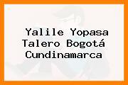 Yalile Yopasa Talero Bogotá Cundinamarca
